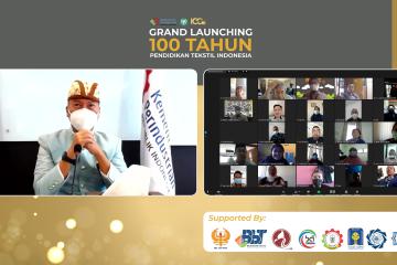 GRAND LAUNCHING 100TH PENDIDIKAN TEKSTIL INDONESIA