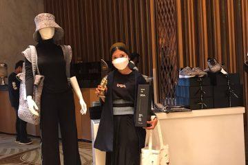 Prestasi mahasiswa magister RTA 2019 (Widiasari), meraih Juara 1 Indonesian Fashion and Craft Award 2021 kategori fesyen